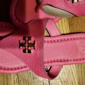 Tory Burch pink sandals 7.5